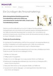 Employer Branding Studien Grundlagen des Personalmarketings