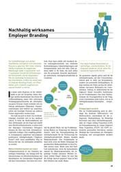 Nachhaltig wirksames Employer Branding